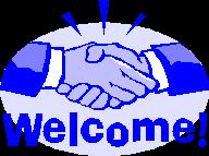 Welcome-handshake