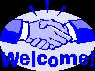 Welcome-handshake