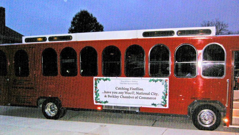 Holiday Lights Parade Trolley