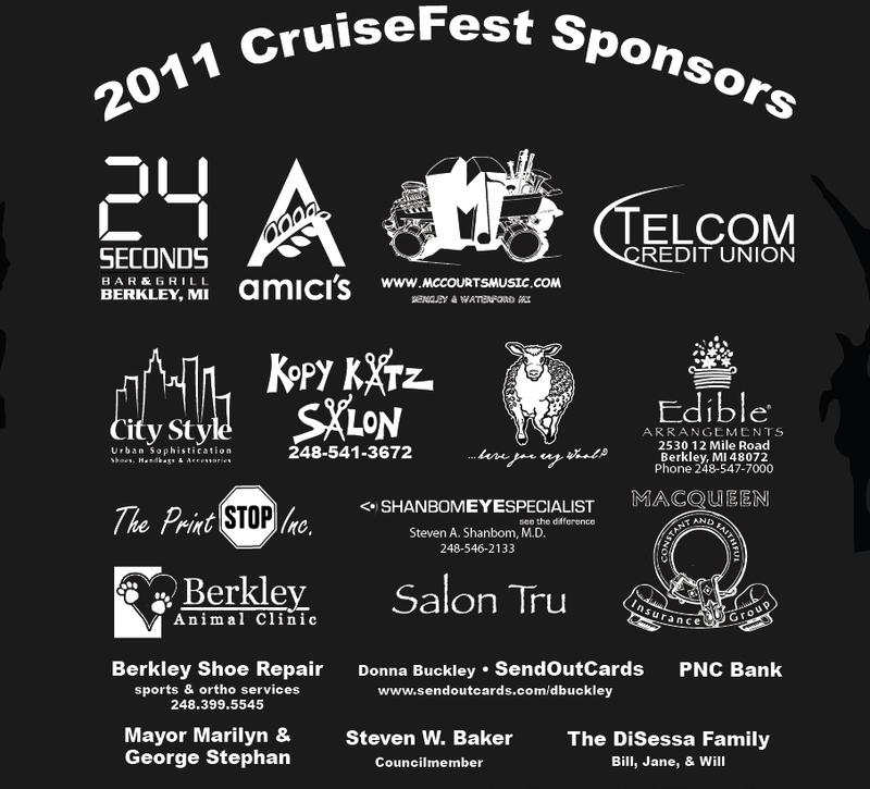 CF Sponsors 2011